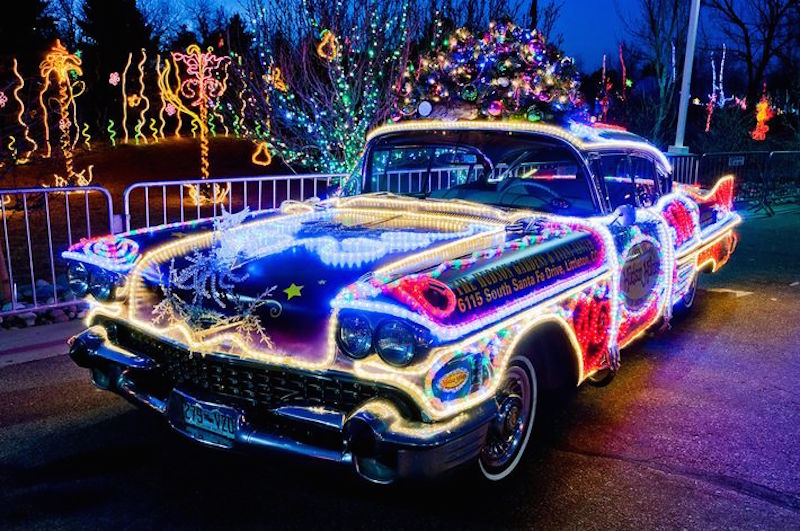 1958 cadillac decorated for the season st albert 39 s place on the web. Black Bedroom Furniture Sets. Home Design Ideas