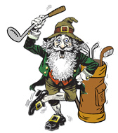 Image result for golfing leprechaun pictures
